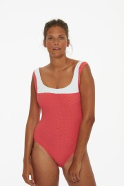 PAULA SWORDFISH ONE PIECE CORAL