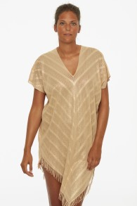 PAULA PERFECT PONCHO COVER UP