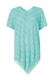 PAULA PERFECT PONCHO COVER UP MENTHOL