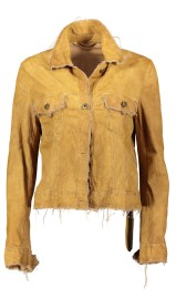 SALVATORE SANTARO SUEDE JACKET ULTRA THIN & SOFT CAMEL