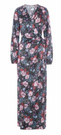 DEA KUDIBAL MATHILDE SILK STRETCH WRAP DRESS | FLOWER FIELD