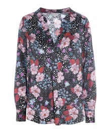 DEA KUDIBAL SANTENA SILK STRETCH BLOUSE FLOWERFIELD