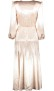 PHILOSOPHY DI LORENZO SERAFINI METALLIC PINK DRESS