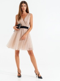 RINASCIMENTO  DRESS DOT TULLE