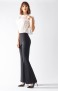 RINASCIMENTO BOOT CUT SMART STRETCH TROUSERS BLACK OR NAVY