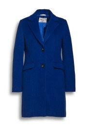 BEAUMONT WOOL BLEND BLAZER COAT INDIGO