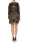 CAMILLA SILK SHORT DRESS WITH DRAPED SLEEVE STUDIO 54