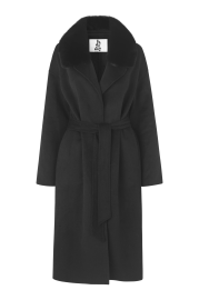 BYDREAMS CARMEN CASHMERE COAT BLACK