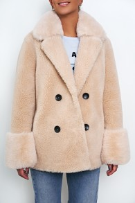 BYDREAMS FIONA WOOL COAT BEIGE