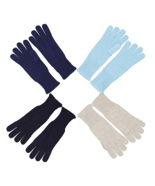 NOTSHY GLOVES IN NAVY, BLACK, LIGHT BLUE & TAUPE