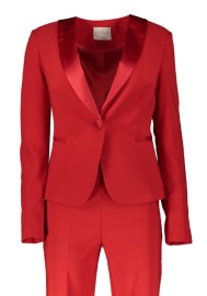 RINASCIMENTO FITTED JACKET SMOKING RED