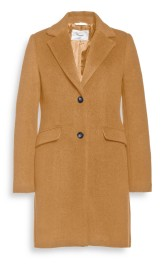 BEAUMONT WOOL BLEND BLAZERE COAT CAMEL