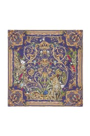 CAMILLA   LARGE SQUARE SILK SCARF   SEVEN DAY WEEKEND