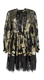 DIAMOND FOR EDEN BLACK & GOLD DRESS