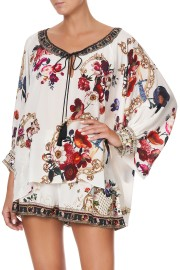CAMILLA SILK RAGLAN SLEEVE BLOUSE FAIRY GODMOTHER