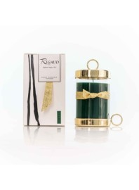 BOUGIES-RIGAUD LARGE MODEL GOLD CYPRÈS AROMA CANDLE