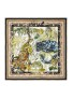 CAMILLA LARGE SQUARE SILK SCARF NIGHT WAITING FOR DAY
