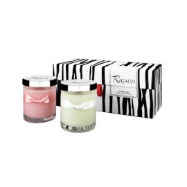 BOUGIES-RIGAUD DUO GIFT SET ROSE-JASMIN