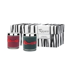 BOUGIES-RIGAUD DUO GIFT SET CYPRÈS-CYTHÈRE