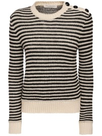 PHILOSOPHY DI LORENZO SERAFINI CASHMERE STRIPED SWEATER