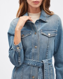 7 FOR ALL MANKIND STRETCH LONG JACKET INTO YOU