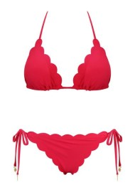 KAANDA RED VENUS TRIANGLE BIKINI