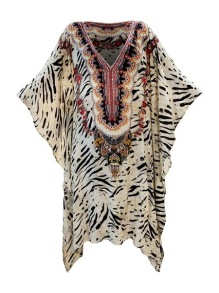 KAANDA PAROS SHORT KAFTAN RESORT COLLECTION