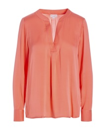 DEA KUDIBAL SANTENA SILK STRETCH BLOUSE PUMELLO