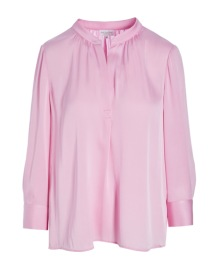 DEA KUDIBAL PENELOPE SILK STRETCH BLOUSE CANDYFLOSS