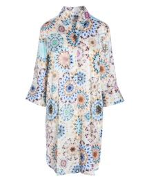 DEA KUDIBAL KAMILLE SILK STRETCH DRESS KALEIDOSCOPE