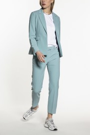 BEAUMONT SKY BLUE SLIM FIT SUIT PANTS