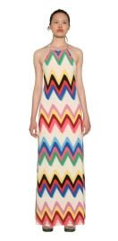 MISSONI JERSEY OPEN BACK MAXI DRESS