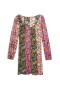 MISSONI LONG SLEEVE FLORAL DRESS