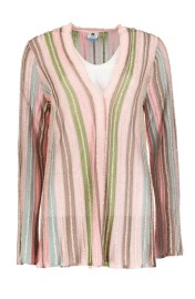 MISSONI KNITTED PASTEL LONG CARDIGAN