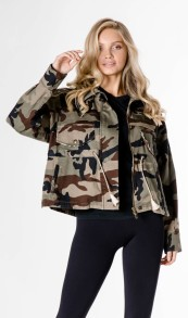 HISTORY REPEATS CAMOUFLAGE SHIRT JACKET