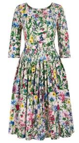 SAMANTHA SUNG WILD FLOWER LONG FLORENCE DRESS