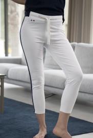 LA MARINIERE FRANCAISE SOLENE WHITE PANTS