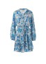 MELISSA ODABASH BLUEBIRD FANTASY DRESS