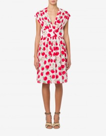 BOUTIQUE MOSCHINO APPLE PRINT DRESS