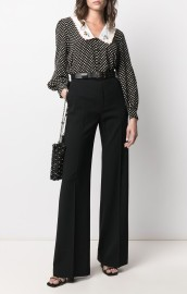 PHILOSOPHY DI LORENZO SERAFINI HIGH RISE FLARED PANTS