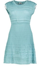 MISSONI SIGNATURE KNITTED SHORT SLEEVELESS DRESS