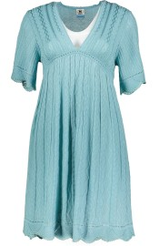 MISSONI SIGNATURE KNITTED OVER THE KNEE BABY DOLL DRESS