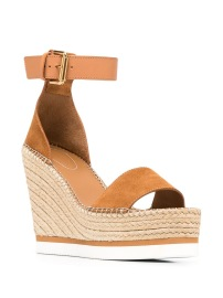 SEE BY CHLOE WEDGE HEEL SANDALS