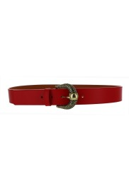 MAISON BOINET RED LEATHER BELT