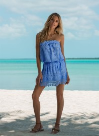 MELISSA ODABASH IRIS CORNFLOWER BLUE DRESS