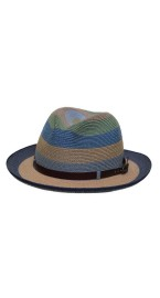 GREVI MULTI BLUE HAT WITH BAND