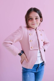 LA CONDESA CHILD & TEENS PINK BLAZER