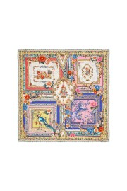 CAMILLA LARGE SQUARE SILK SCARF PARTY IN THE PALACE