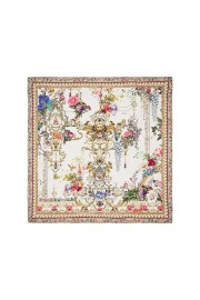CAMILLA LARGE SQUARE SILK SCARF BY THE MEADOW