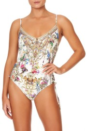 CAMILLA ROUCHED SIDE ONE PIECE BY THE MEADOW